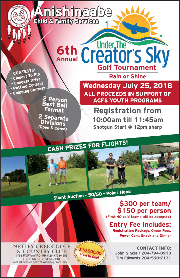 Under the Creator's Sky Golf Tournament