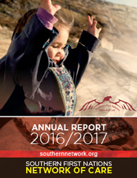 Southern First Nations Network of Care Annual Report 2016-17